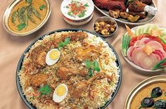 Chicken Biryani with Hard Boiled Eggs | Biryani is a traditional Indian rice dish that's loaded with exotic spices and meat or vegetables. This authentic version features a laundry list of flavorful spices, but don't let that deter you. The result is a delectable chicken biryani dish that the whole family will love.