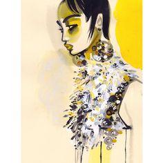 « PRADA eye candy #fashion #fashionart #artwork #art #artsy #artist #ink #paint #painting #faces #model #muse #glam #illustrator #fashiondrawers… »