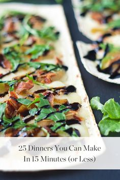 25 Dinners You Can Make in 15 Minutes (or Less)