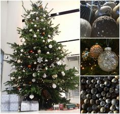It's beginning to look a lot like #Christmas! #Festive #ChristmasTree  #MoysesStevens   #FestiveFeeling #WhiteChristmas #ChristmasDecorations #Luxury #Florist #London https://www.moysesflowers.co.uk/