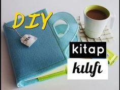 Kendin Yap Keçeden Kitap Kılıfı / DIY Felt Book Cover - YouTube