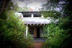 Cottage at the abandoned Percy Rockefeller estate near Fayetteville, North Carolina