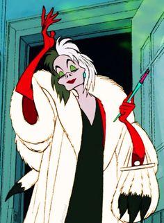 Day 1: Cruella De Vil is DEFINITELY my favorite villain