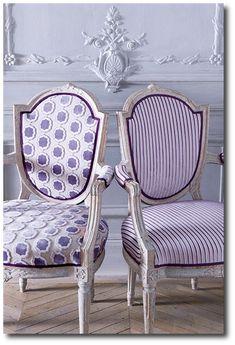 18th Century Looks Using Purple