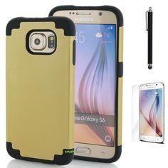 Samsung Galaxy s6 Protective Case - Gold/Black