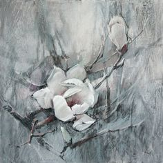 Магнолия 04, 70x70 Бумага, пастель, уголь Magnolia 04,70x70 Paper, pastel, charcoal #pasteldrawing #pastelpainting #charcoal #fineart…