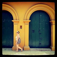 Walking in Cartagena, Colombia