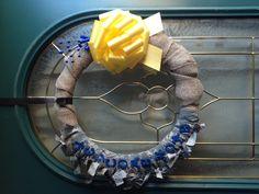 Military homecoming wreath