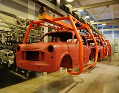 Centro Storico Fiat  Assembly Line of Fiat 1100