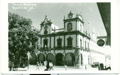 Postcard - Palacio Municipal,  Tepatitlan,  Mexico