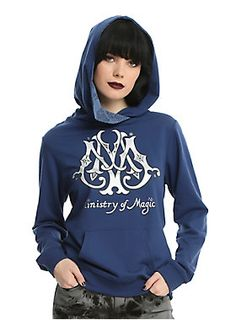 Greetings from the Ministry of Magic! // Harry Potter Ministry Of Magic Girls Cowl Neck Hoodie
