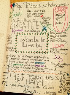 Bullet Journal Quotes Page #bujo #bulletjournal