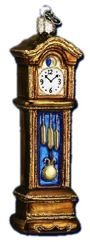 Grandfather Clock | Old World Christmas Glass Ornaments