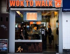 Wok to Walk allows you to create your own wok dish. Your meal is ready in minutes.
