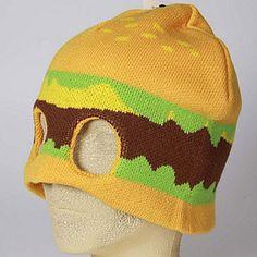 Beanie burger