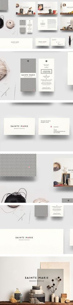 Sainte Marie identity | #stationary #corporate