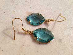 Blue Earrings  Gold Jewellery  Fashion Jewelry  Style  by cdjali