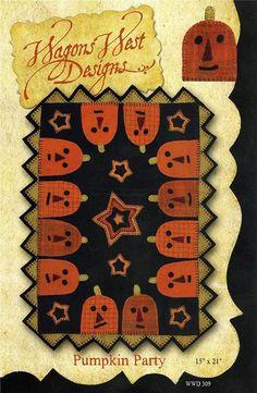 Wagons West Designs Primitive Folk Art Wool by TheFabricAsylum