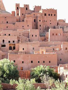Aït-Benhaddou, Morocco