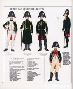 French; Imperial Guard, Dragoon(The Empress' Dragoons) Regt, Officers, Town & Quarters Dress
