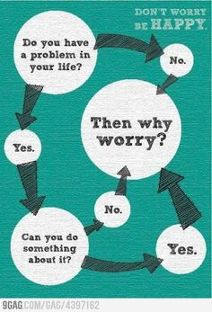 Dont worry, be happy.