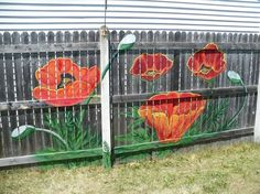 The fence idea will totally brighten up your backyard—and it takes just 4 hours to do!