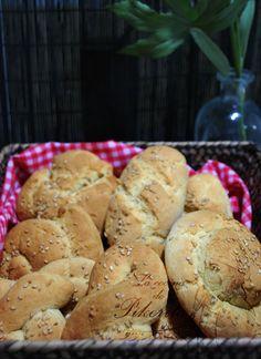Panecillos sin gluten fáciles. Harina schar, garbanzo y mijo