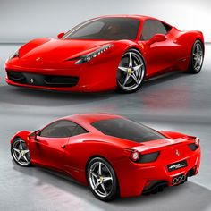 Ferrari 458 Italia: Color Thread ❤ liked on Polyvore featuring cars and carro