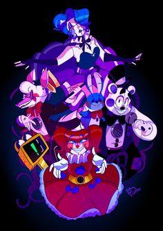five nights at freddy's ballora Ballora Fnaf, Anime Fnaf, Fnaf Drawings, Kawaii Drawings, Five Nights At Freddy's, Mundo Dos Games, Fnaf Wallpapers, Baby Tumblr, Freddy 's