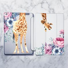 iPad Pro Flowers case Giraffe Smart cover iPad 2018 case iPad case for iPad Air 2 case iPad Mini 4 case iPad 2017 case iPad 6 case Cute Ipad Cases, Ipad Air 2 Cases, Cute Cases, Ipad Pro, Funda Ipad Air 2, Disney Ipad Case, Ipad Mini, Make Your Own Case, Coque Ipad