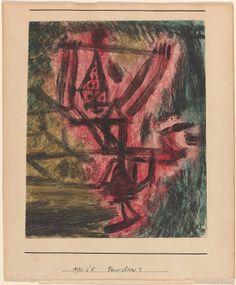 Klee, Paul Swiss, 1879 - 1940 Feuer Clown I (Fire Clown)