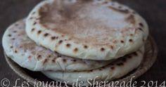 Khobz dar à la farine au keskas