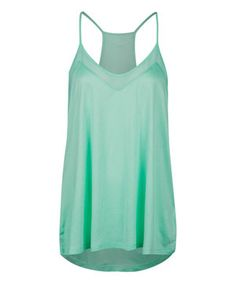 Loving this Mojito Sheer-Panel Racerback Tank on #zulily! #zulilyfinds
