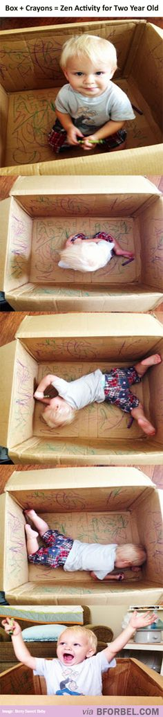 It's Not That Hard To Keep A Two-Year-Old Happy…