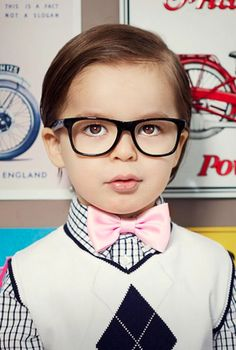 add a pink bow tie, perfect for Spring #bGstyle Click Here to subscribe: www.babyGent.com