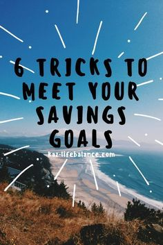 Are you having trouble saving money? Here are 6 tricks that can help!