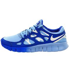 Nike Wmns Free Run 2 Ext Womens 536746 401 Running Shoes Sneakers Blue♥✤ | Keep the Glamour | BeStayBeautiful