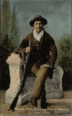 Calamity Jane, Notorious Frontier Character, Gen. Crook's Scout