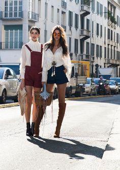 Lässig statt elegant: Die besten Streetstyles der Milan Fashion Week