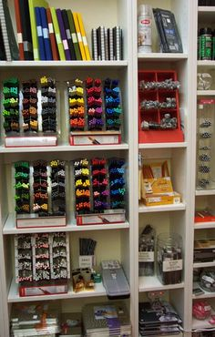 Art supplies stores for artists are like toy stores are for children.