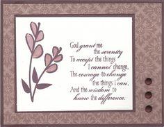 Verve Serenity stamp set