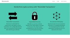 Reversecoin – World's First Cryptocurrency With Reversible Transactions