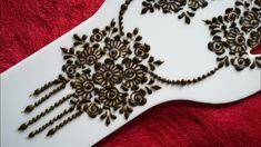 Simple Arabic Mehndi Designs, Henna Designs, Mehndi Tattoo, Mehndi Art, Mehndi Patterns, Mehndi Brides, Simple Pattern, Henna Artist, Bridal Mehndi