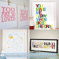 Typography Wall Decor For Nursery   POPSUGAR Moms