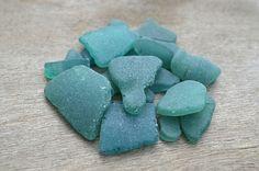 Teal Beach Glass Greenish blue Sea Glass Natural Bulk Sea Glass Genuine Sea Craft Supplies DIY Supplies Sea glass for Jewelry Seaglass art
