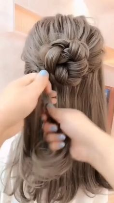 50+ Easy & Quick Hairstyle Tutorial Updos For Long And Medium Length Hair Step By Step