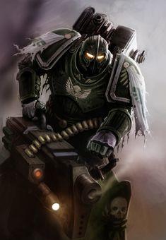 Warhammer 40000,warhammer40000, warhammer40k, warhammer 40k, ваха, сорокотысячник,фэндомы,Imperium,Империум,Space Marine,Adeptus Astartes,Dark Angels