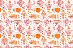 Tea Pot pattern via katuno.com