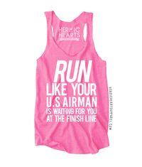Run Like Your U.S. Airman Top