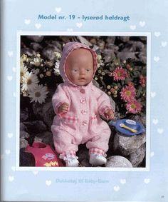 Album Archive - Dukketøj til Baby Born 2 - Ingelise Doll Dress Patterns, Clothing Patterns, Reborn Dolls, Baby Dolls, Baby Born Clothes, Barbie, T Baby, Sewing Dolls, Pattern Books